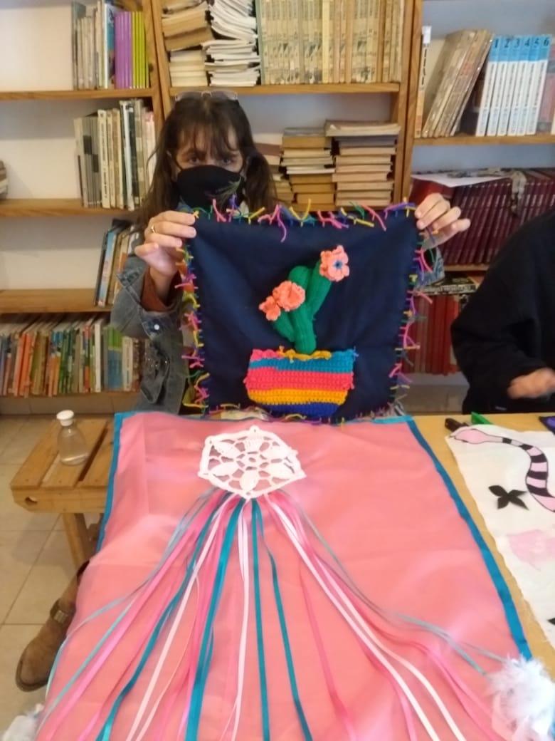 El polo productivo textil cumple tres meses de actividades en los barrios